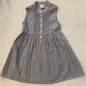 Crewcuts Sleeveless Stripe Dress